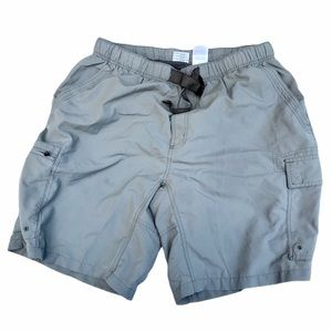 Columbia grey men's shorts size large boy scout
